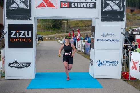 Finishing the race after 4h32min